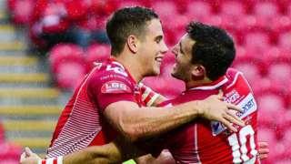 Scarlets celebrate
