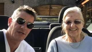 Phil Lind and his mum Ursula