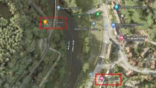 Map of Redbrook