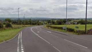 A52 Leek Road near to Blakeley Farm Kennels