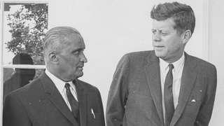 स. का. पाटील आणि अमेरिकेचे माजी राष्ट्राध्यक्ष जॉन एफ केनेडी