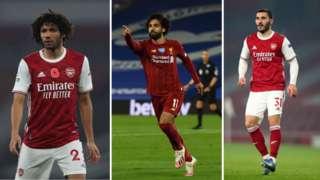 Elneny, Salah, Kolasinac