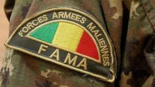 Mali army insignia