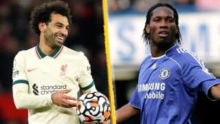 Mohamed Salah & Didier Drogba