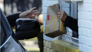 McDonald's drive-through