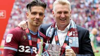 Jack Grealish Dean Smith