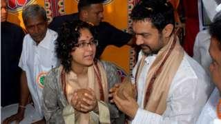 عامر خان او کرن راو