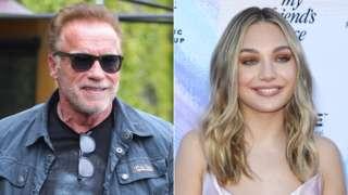 Arnold Schwarzenegger and Maddie Ziegler