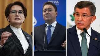 Meral Akşener, Ali Babacan, Amet Davutoğlu