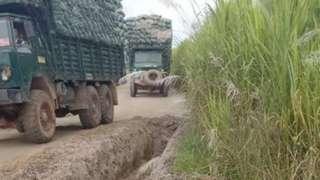 ရှမ်းပြည်နယ် မြောက်ပိုင်း နမ့်ခမ်းမြို့နယ်ထဲက မြန်မာပိုင်နက် နယ်မြေထဲကို တရုတ်ဘက်ကဝင်ရောက်မြေတူး