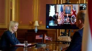 英美首轮贸易谈判