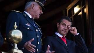 Cienfuegos y Peña Nieto