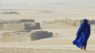 بدوي في الصحراء