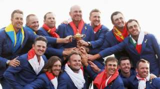 Europe win the Ryder Cup
