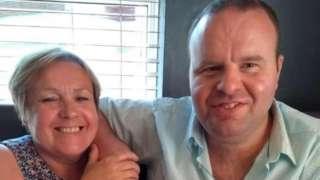 Lynn Coleman a Neil Bamsey
