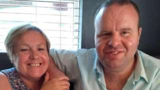 Lynn Coleman and Neil Bamsey