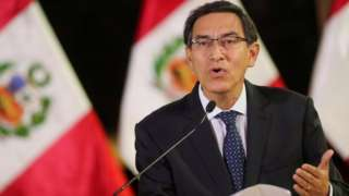 Peruvian President Martín Vizcarra. File photo