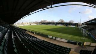 Yeovil Town's Huish Park home