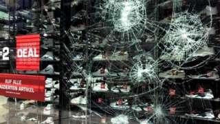 Всего пострадало 40 магазинов
