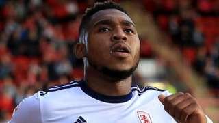 Middlesbrough striker Britt Assombalonga