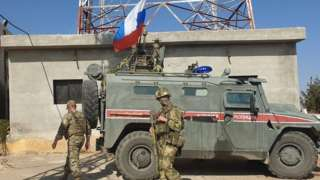 Russian forces in N Syria