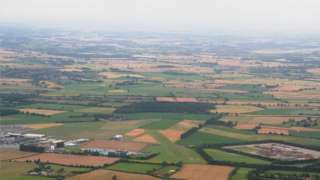 Aerial photo of Full Sutton Airfield