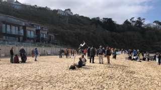 Carbis Bay Hotel work protest