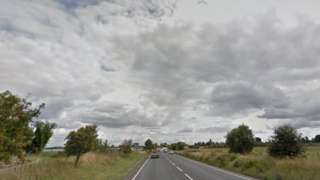 Picture of the A46 between Twyford and Badsey roundabouts, for the A44 and B4035