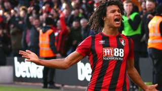 Nathan Ake scores for Bournemouth