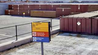 Nuclear waste facility at Drigg