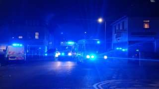 emergency services at incident in Mundy Place, Cathays, Cardiff