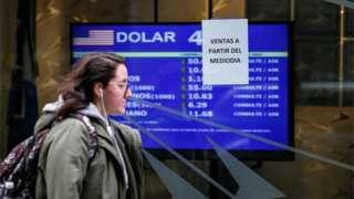 Dollar peso sign