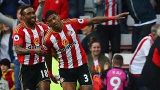 Sunderland celebrate equaliser