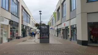 Corby town centre