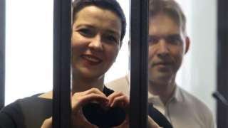 Саслушања у случају против Марије Калесникове и Максима Знака почела су у белоруској престоници