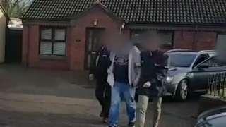 Arrest in Belfast