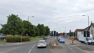 A4 Bath Road in Slough