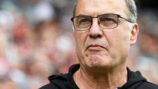 Leeds United head coach Marcelo Bielsa