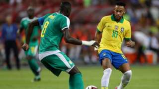 Brazil Neymar for friendly wit Senegal