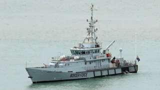 Border force vessel