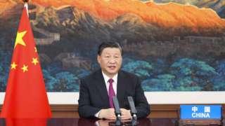 習近平在全球服務貿易峰會通過視頻宣佈成立北京證券交易所。