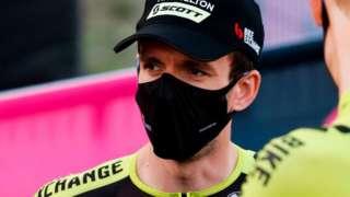 Mitchelton-Scott rider Simon Yates at the Giro d'Italia