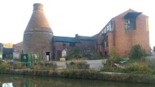 Former Price and Kensington Teapot factory in Longport Stoke