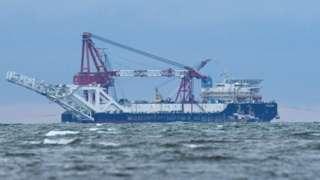 俄羅斯鋪管船Fortuna號