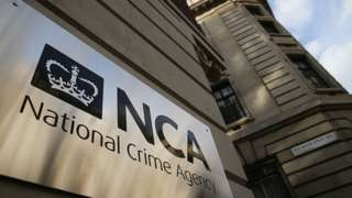 The National Crime Agency in Westminster, London