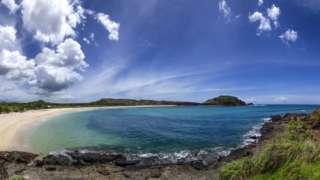 Beach at Mandalika