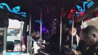 Maidstone party bus