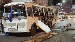 росія, вибух автобуса