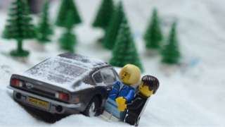 Clip from Jon Opstad's The Lego Daylights