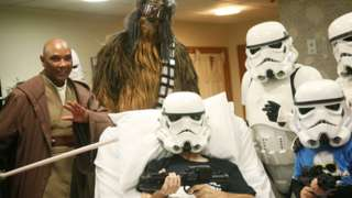 Star Wars fan in hospice